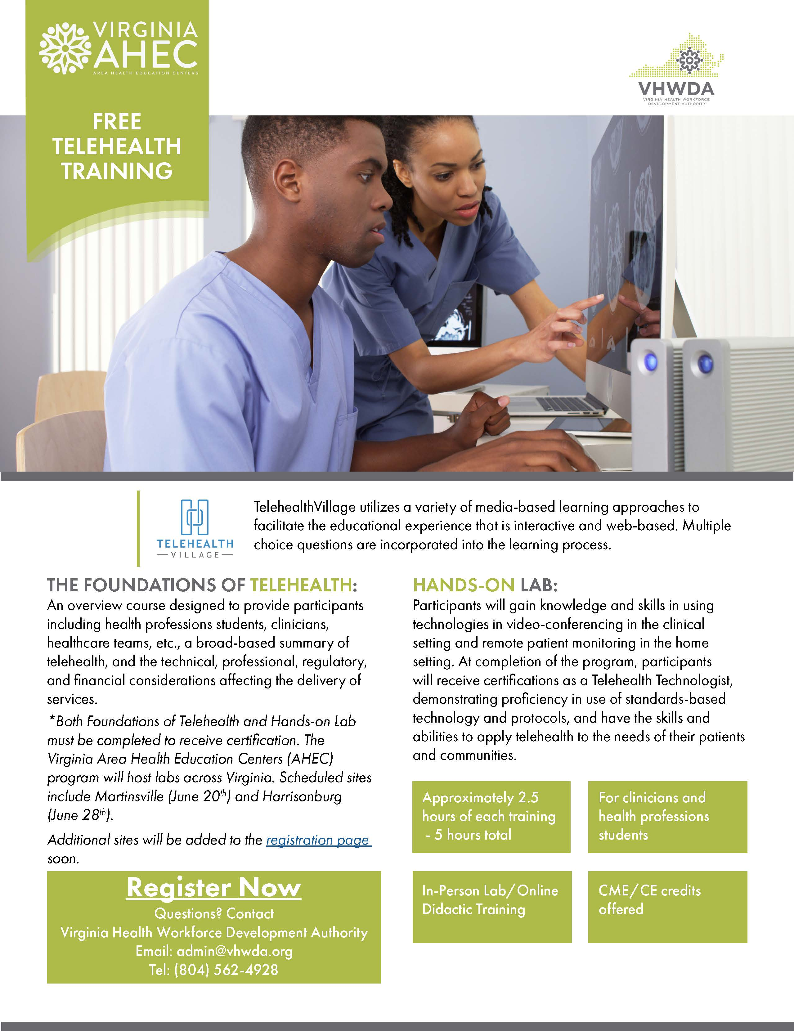 VHWDA Telehealth Training Martinsville June 2019
