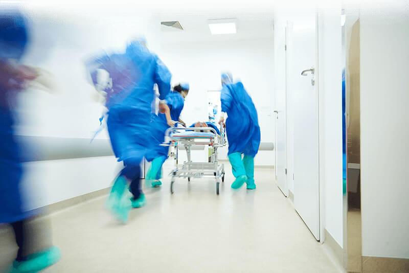 Surgical Team Running